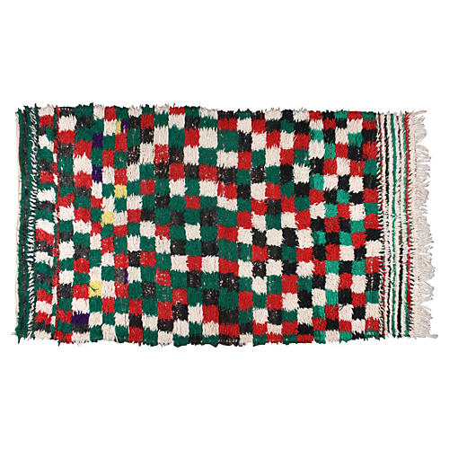 Moroccan Rug, 4' x 8'