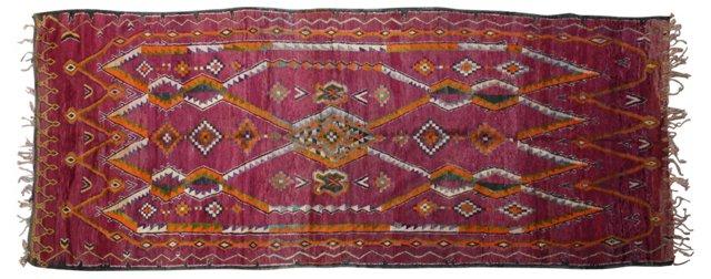 Moroccan Rug, 15' x 6'