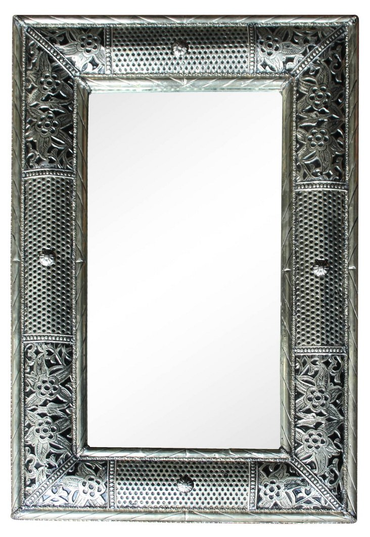 Handmade Moroccan Mirror w/ Engravings