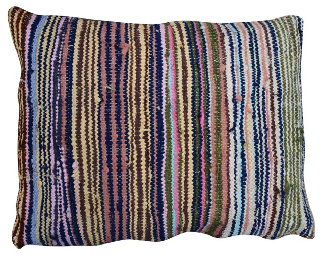 Striped Moroccan    Boucherouite Sham
