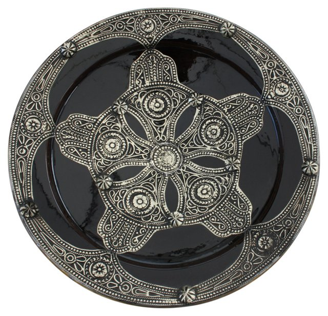 Moroccan Wall  Plate