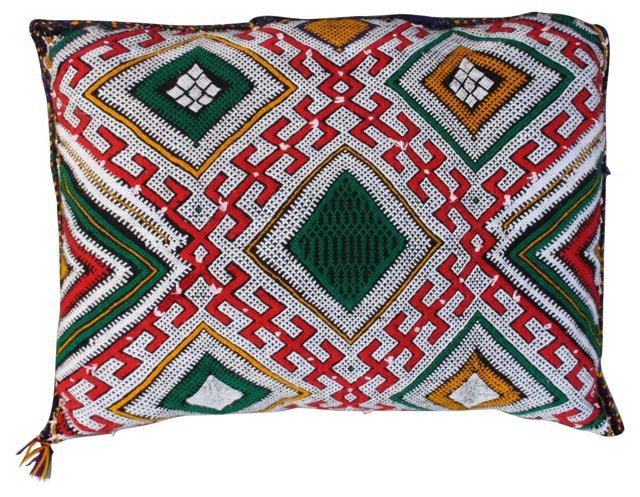 Moroccan Sham w/  Berber Design