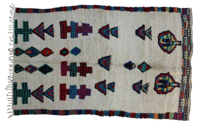 Moroccan Rug, 7'5'' x 4'7''