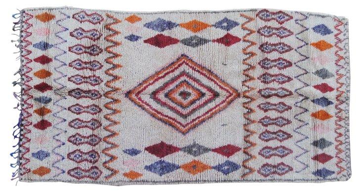 Moroccan Rug, 9'5'' x 4'11''