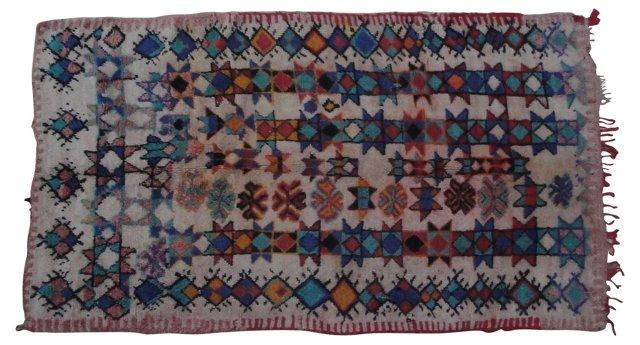 Moroccan Rug, 8'8'' x 4'11''