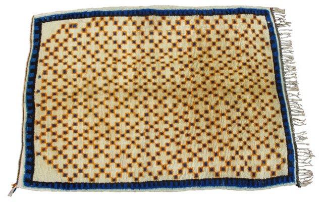 Moroccan Rug, 6'8'' x 4'11''