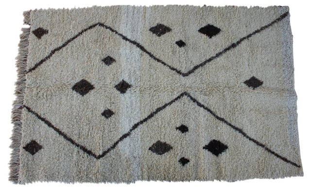 Moroccan Rug, 7'1'' x 4'6''