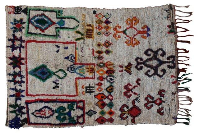 Moroccan Rug, 5'7'' x 3'7''