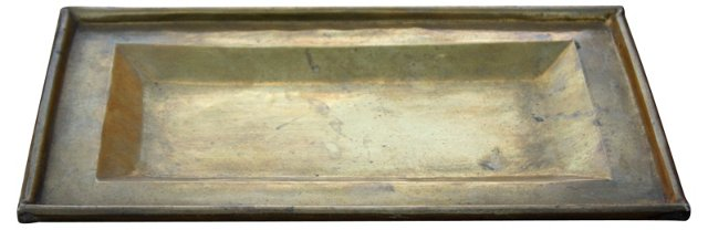 French Brass Tray