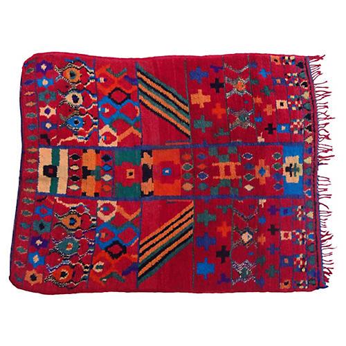 Moroccan Berber Rug, 5'7'' x 4'3''