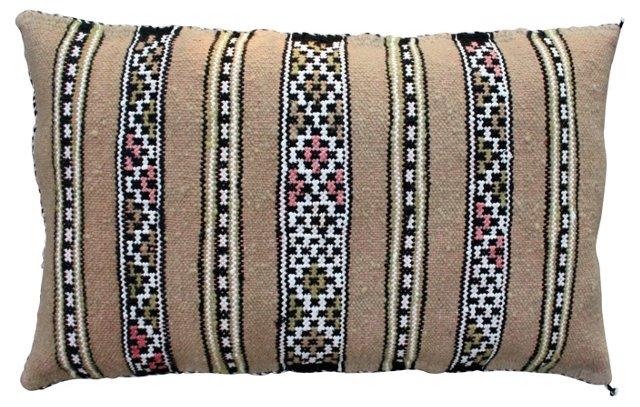 Moroccan Berber Sham  w/ Ornate Stripes