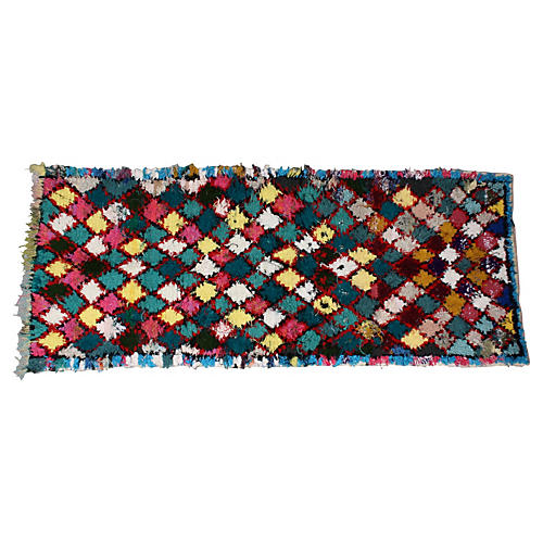 Moroccan Rug, 7'10'' x 3'3''