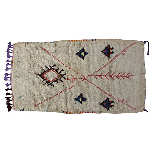 Moroccan Rug, 4'8'' x 2'6''