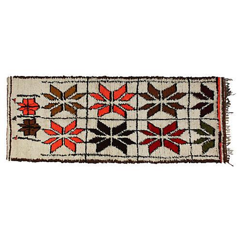 Moroccan Rug, 8'3'' x 3'1''