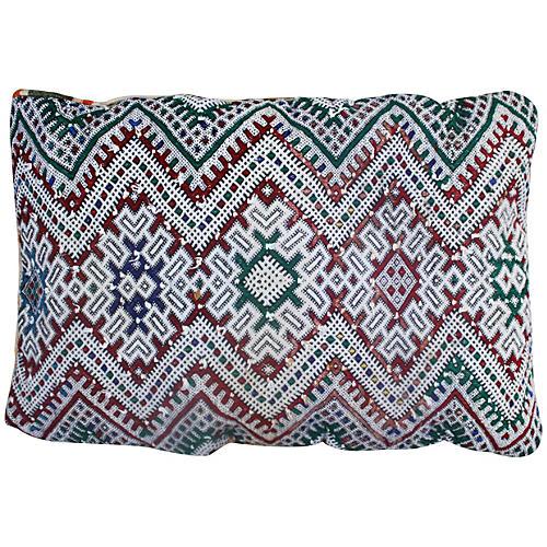 Moroccan Sham w/ Complex Berber Design