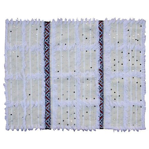 Moroccan Berber Handira, Striped