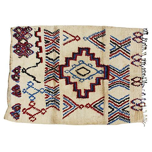 Moroccan Rug, 5'6'' x 4'