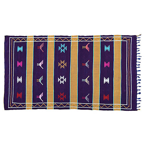 Moroccan Cactus Silk Rug, 8' x 4'5''