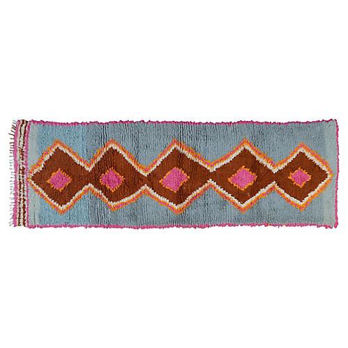 Moroccan Rug, 8'9'' x 2'10''