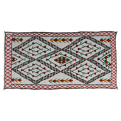 Moroccan Rug, 5'4'' x 10'