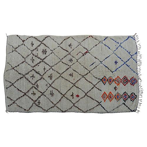 Moroccan Rug, 6'2''x10'10''