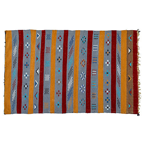 Moroccan Rug, 3' x 4'11''