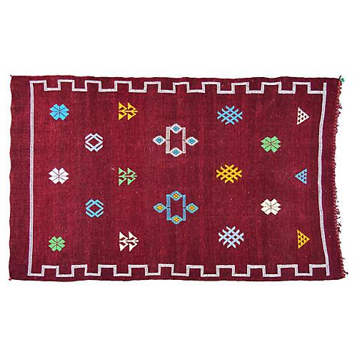 Moroccan Rug, 3'1'' x 4'10''