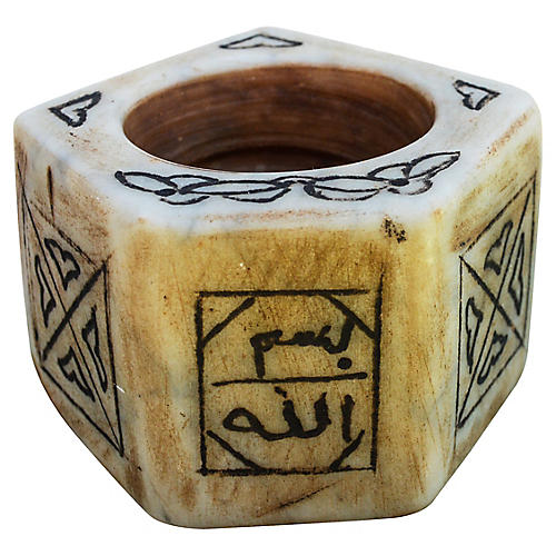 Moroccan Marble Inkwell