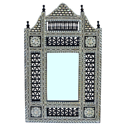 Moorish Mother-of-Pearl Mirror