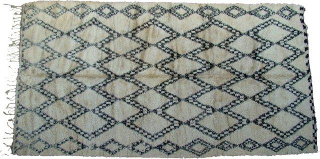 Beni Ourain Moroccan Rug, 15' x 8'
