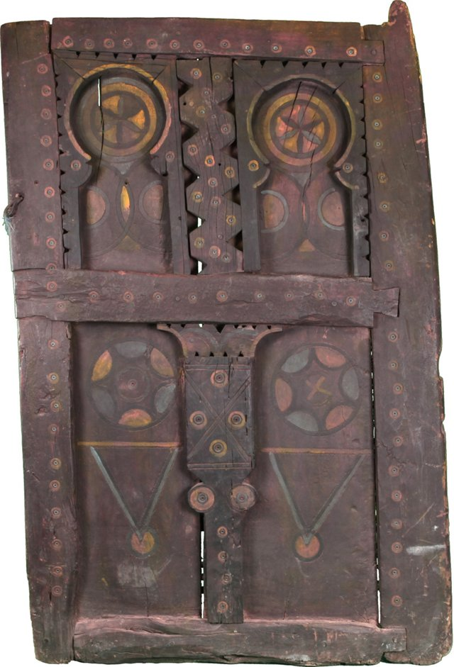 Antique Moroccan Berber Door