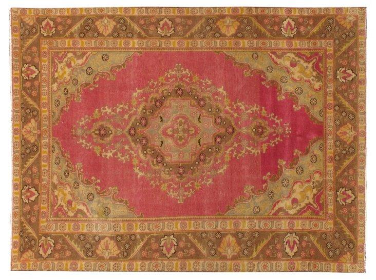 """Persian Tabriz, 6'7"""" x 9'"""