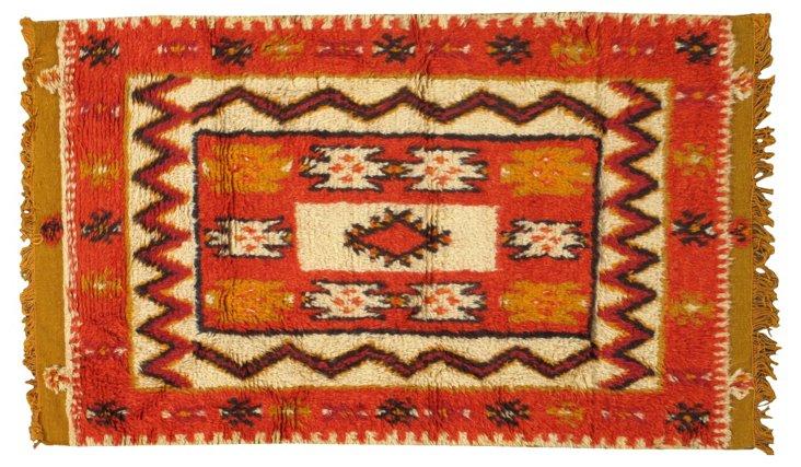"Moroccan Rug, 3'1"" x   5'"