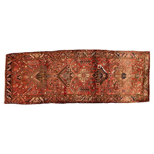 Persian Hamadan Rug, 4' x 11'