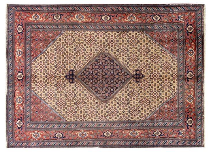 "Antique Tabriz, 7'10"" x 10'10"""