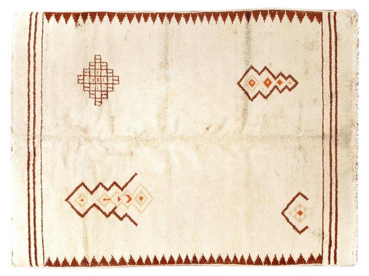 "Moroccan Rug, 5'9"" x 7'10"""