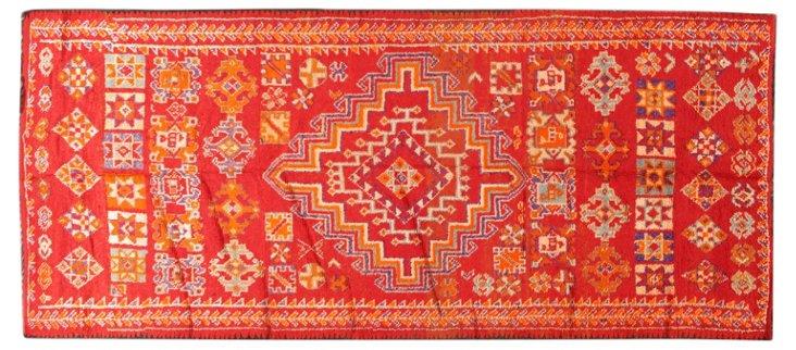 "Moroccan Rug, 6' x 13'4"""