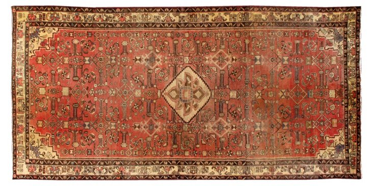 Antique Persian Hamadan, 5' x 10'5''