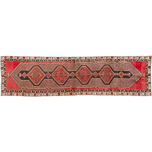 Northwest Persian Runner, 3' x 12'4""