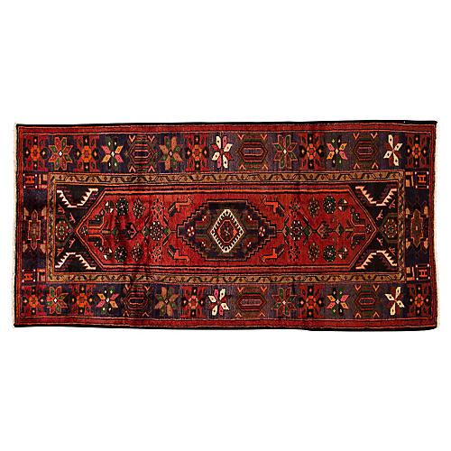 "Vintage Persian Hamadan, 3'11"" x 8'1"""