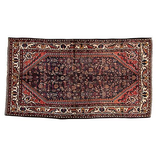 "Vintage Persian Hamadan, 3'6"" x 6'4"""