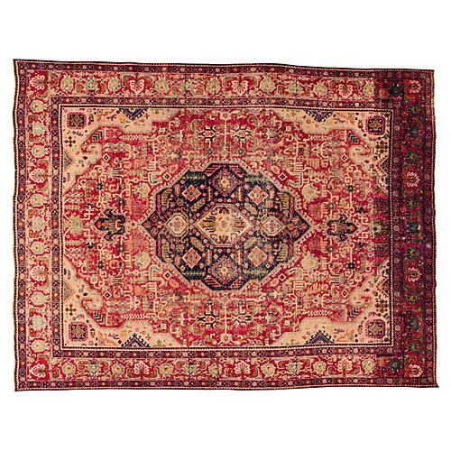 "Persian Tabriz Carpet, 9'8"" x 12'7"""