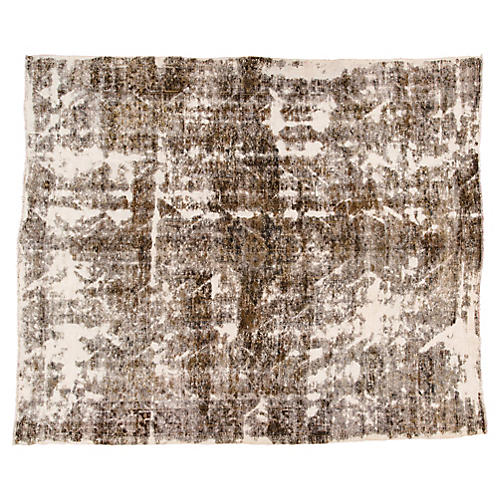 "Vintage Persian Heriz Rug, 9'6"" x 11'4"""