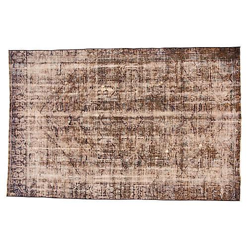 "Vintage Persian Heriz Rug, 7'7"" x 11'8"""
