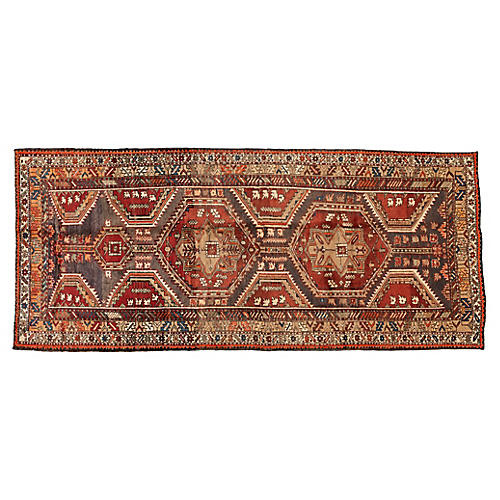 """North West Persian Rug, 4'4"""" x 10'"""