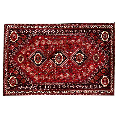 "Persian Shiraz Rug, 5'8"" x 8'8"""