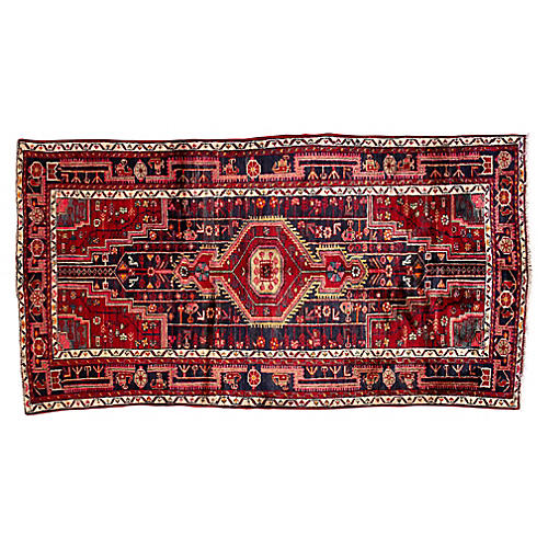 """Persian Rug, 4'7"""" x 8'8"""""""