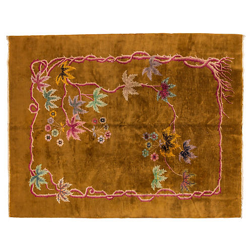 "Chinese Art Deco Carpet, 9'1"" x 11'8"""