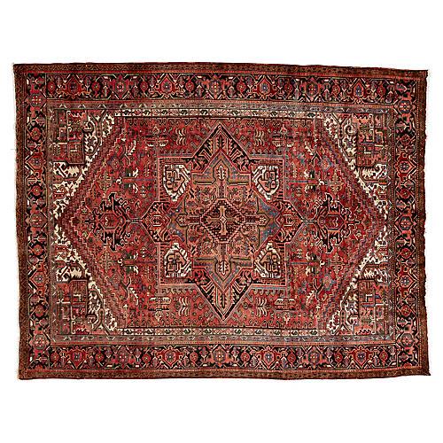 "Persian Heriz Rug, 8'5"" x 11'"
