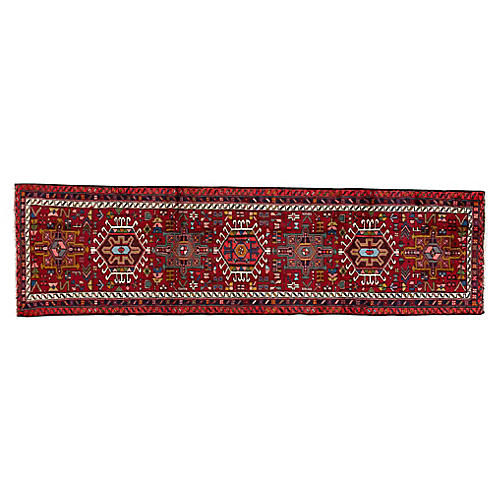 "Persian Heriz Runner, 2'7"" x 9'3"""
